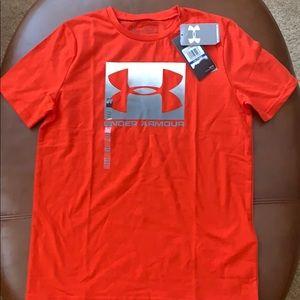 NWT Boys' UnderArmour T-shirt.